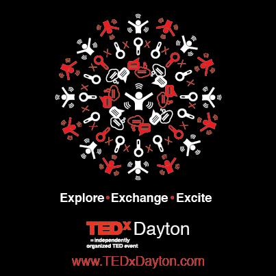 TEDxDayton 2014 Logo Vertical