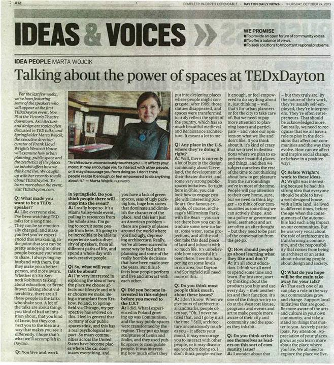 TEDxDayton Wescott House